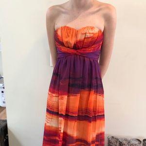 Jessica Simpson Sunset Maxi Dress - Size 2